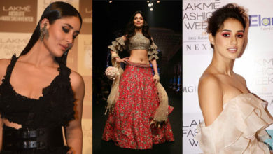 Photo of Bollywood Actresses at Lakme Fashion Week Summer Resort 2018
