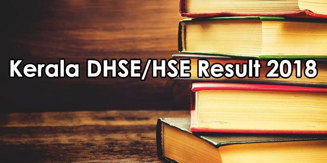Kerala DHSE/HSE Results 2018