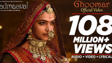Photo of Padmaavat Video Song – Ghoomar