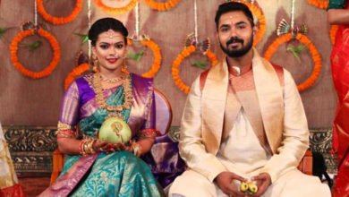Actress Keerthana Marriage Photo