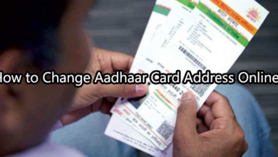 How to Change Aadhaar Card Address Online