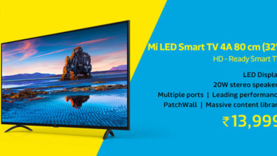 Photo of Mi LED Smart TV 4A (80 cm) only at Flipkart for 13999