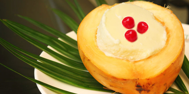 Tender Coconut Pudding
