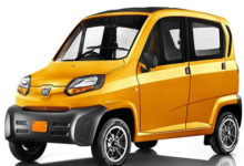 Photo of Bajaj Qute Quadricycle to be Sold in Kerala and The Northeast