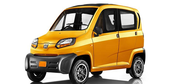 Bajaj Qute Quadricycle Booking Started