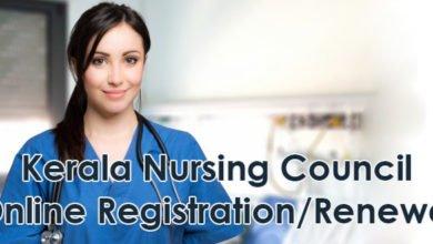 Photo of Kerala Nursing Council Online Registration/Renewal