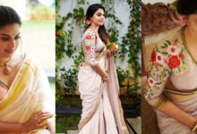 Photo of Malayalam Actress Anusree Latest Photoshoot In Saree