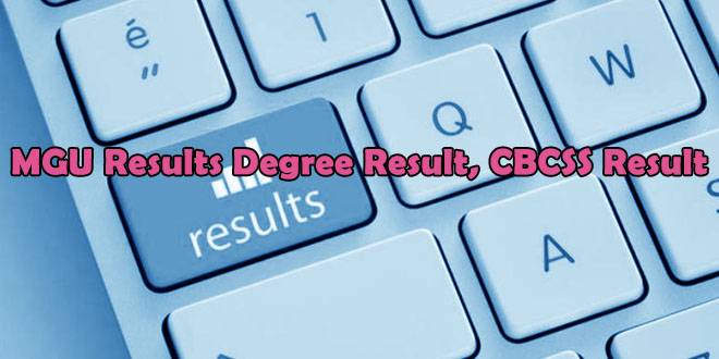 MGU Results degree result