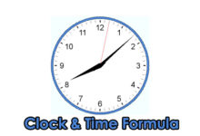 Photo of Clock and Time PSC Problems & Formula