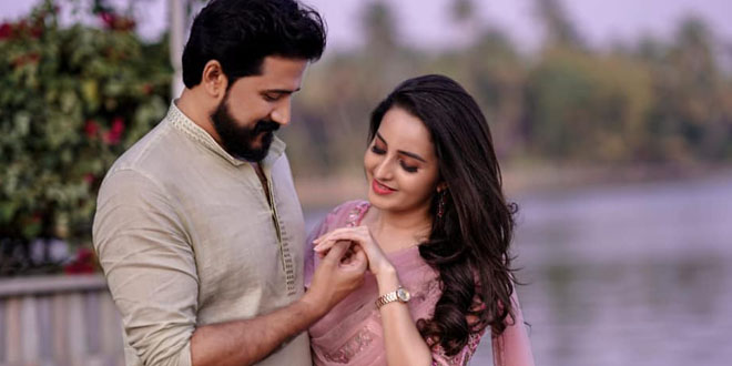 Actress Bhama Engagement Photos