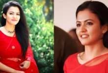 Photo of Aparna Das In Red Saree Photos