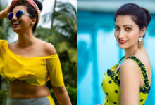 Photo of Hamsa Nandini Photos in Yellow Dress
