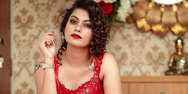 Anusree Latest Photoshoot in Red