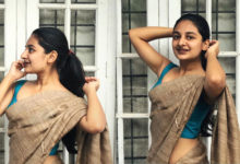 Photo of Esther Anil in Saree Photos