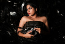 Photo of Swasika New Photoshoot in Black