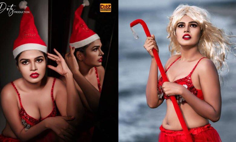 Archana Anil Viral Christmas Photoshoot